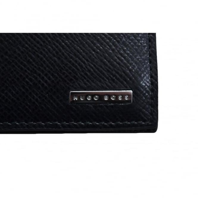8c3fe24650 Hugo Boss Men's Signature_8 CC Black Leather Wallet