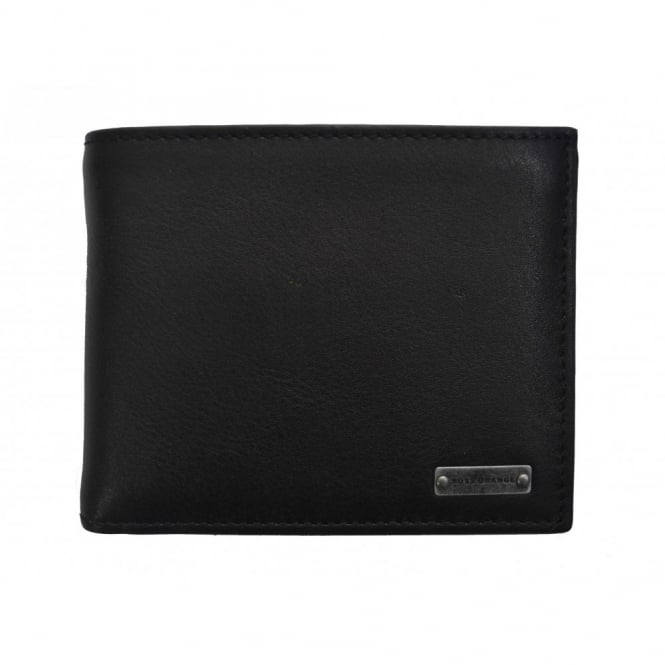 Hugo Boss Accessories Hugo Boss Orange Men's Black Wallet