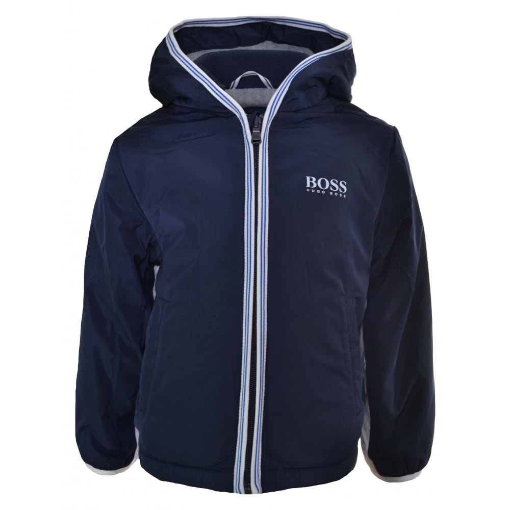 Hugo Boss Infants Navy Blue Windbreaker Jacket f9297a68e