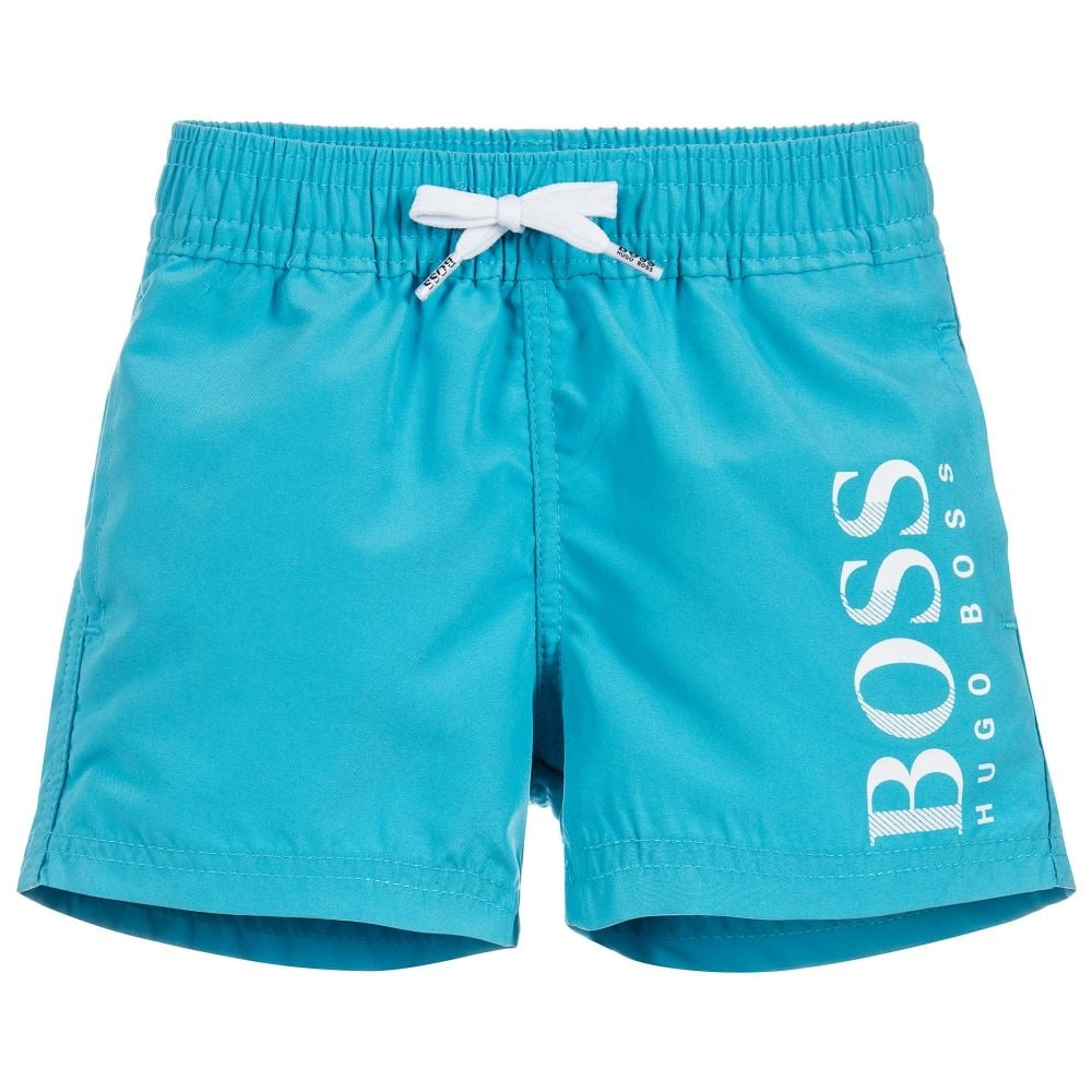 25e9e8d3 Hugo Boss Infants Turquoise Blue Swimming Shorts