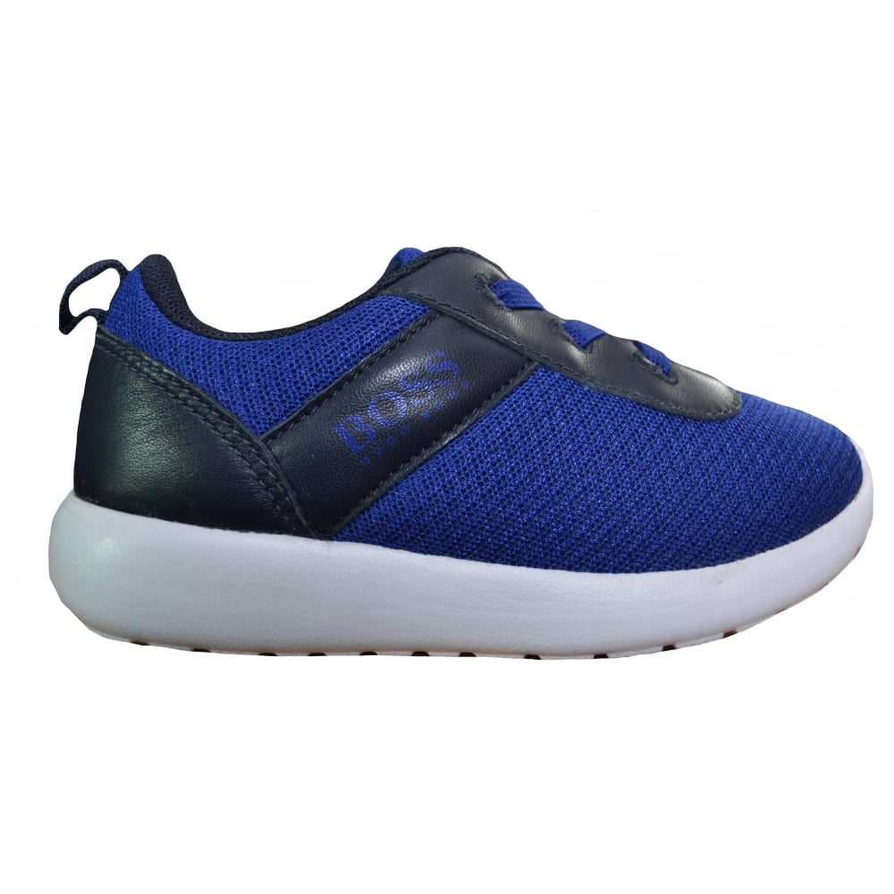 hugo boss boys blue trainers 5a7f842d99c9