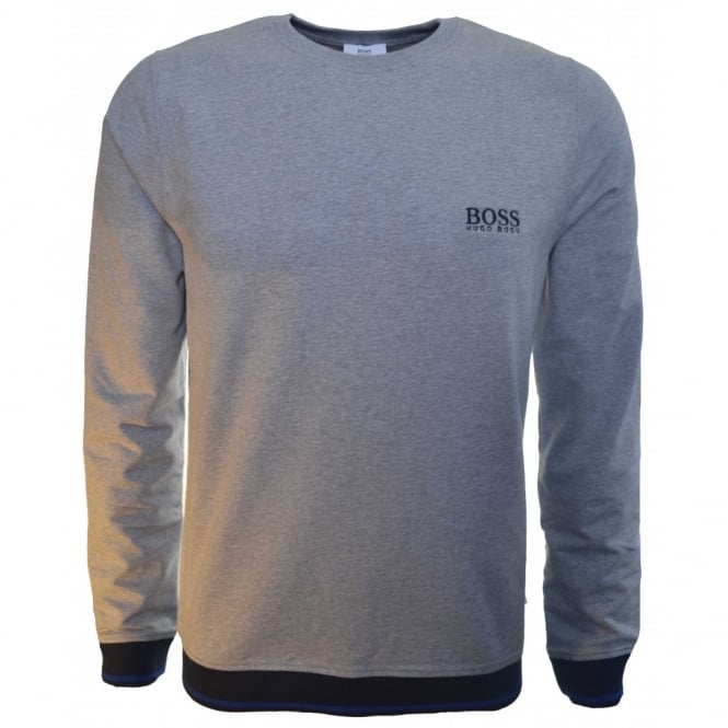 33dcd7811 hugo boss kids grey sweatshirt jumper