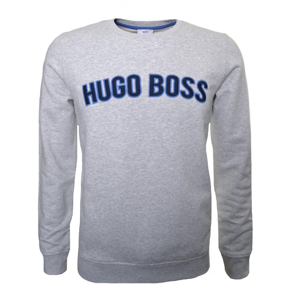 a91626a6452 hugo boss kids grey sweatshirt