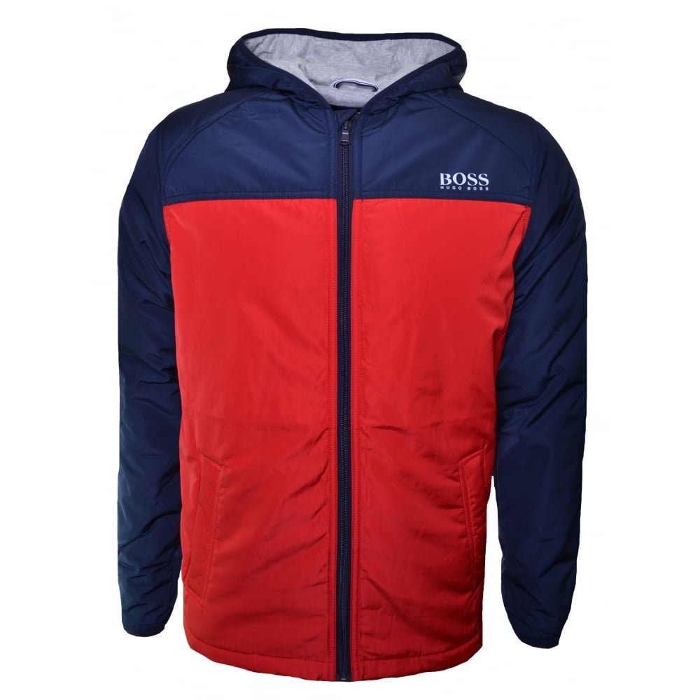 f397e47421 Hugo Boss Kids Red Windbreaker Jacket