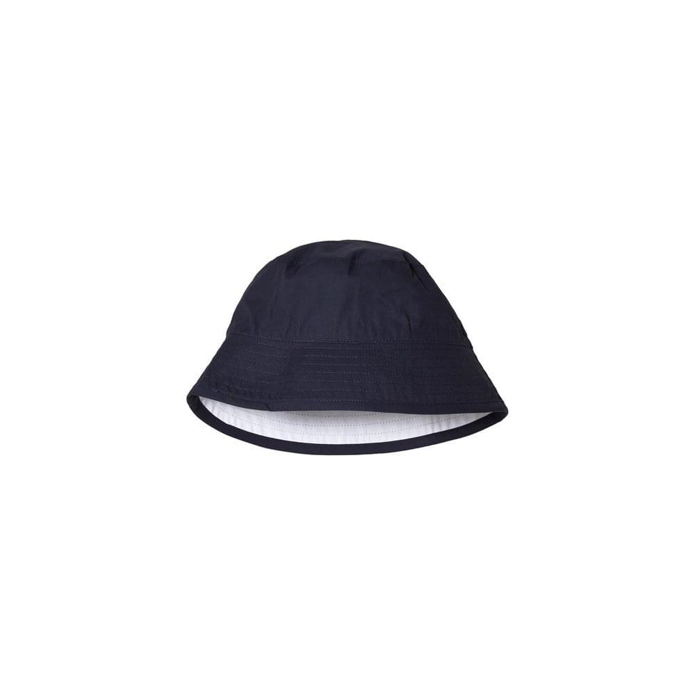 73ddd8bf3d0 Hugo Boss Kids White And Navy Reversible Bucket Hat