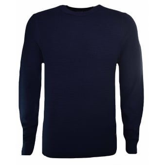 Hugo Boss Casual Dark Blue Kelvor Jumper