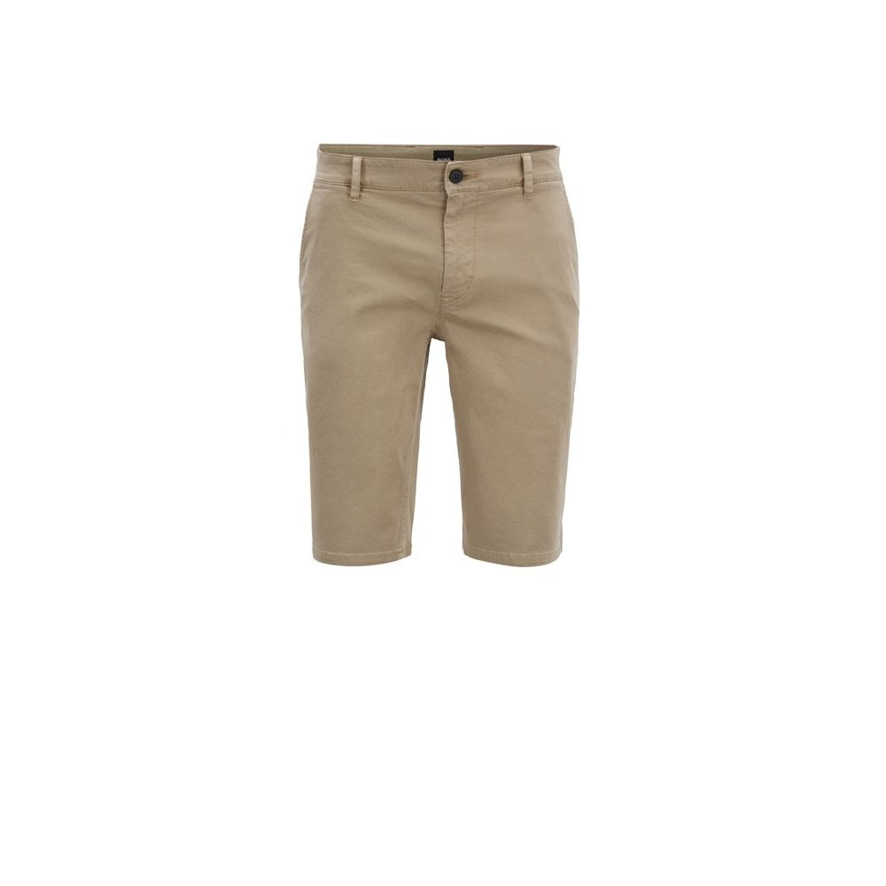 7ec2181b hugo boss beige slim fit schino shorts
