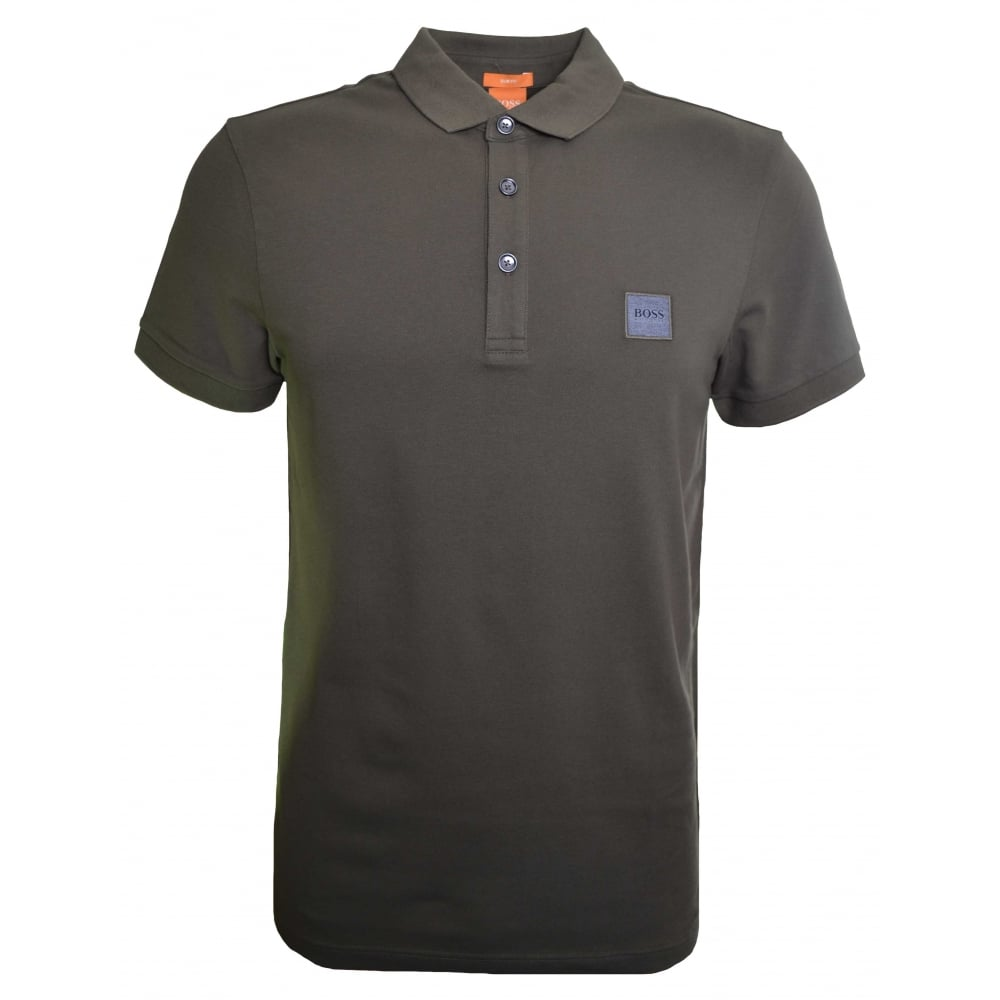 75f529cc Hugo Boss Men's Casual Slim Fit Khaki Pavlik Polo Shirt