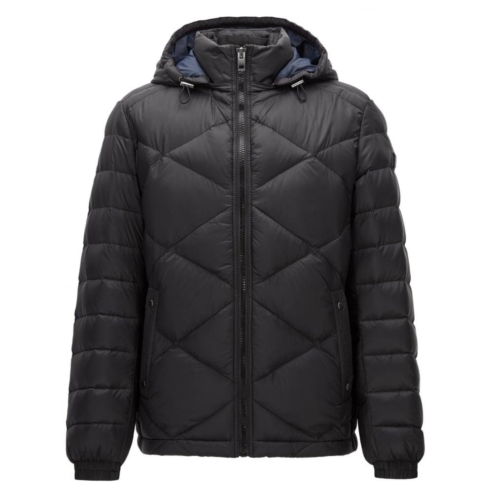 6bb532a5b Hugo Boss Men's Obaron Black Jacket