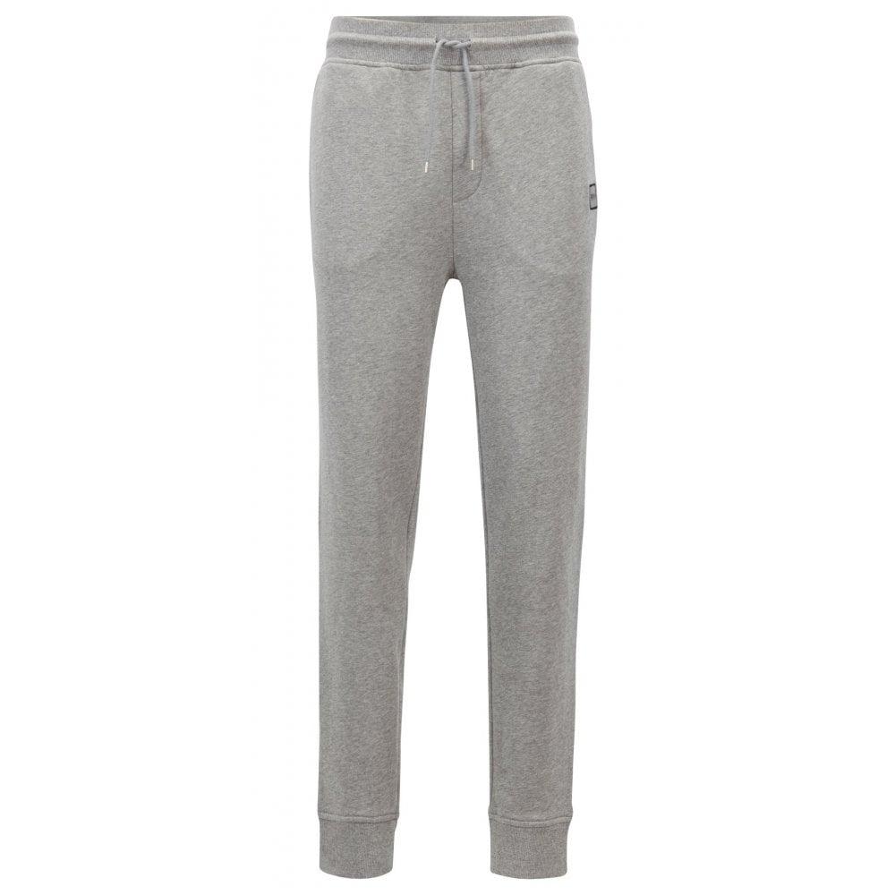 BOSS Orange Mens Striker Sweatpants with Woven Logo Patch