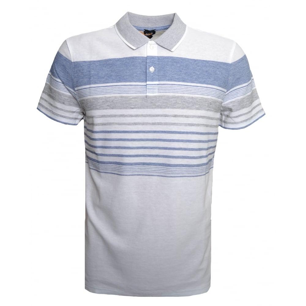 27d85fab6 Hugo Boss Casual Men's Off White Pilak Polo Shirt