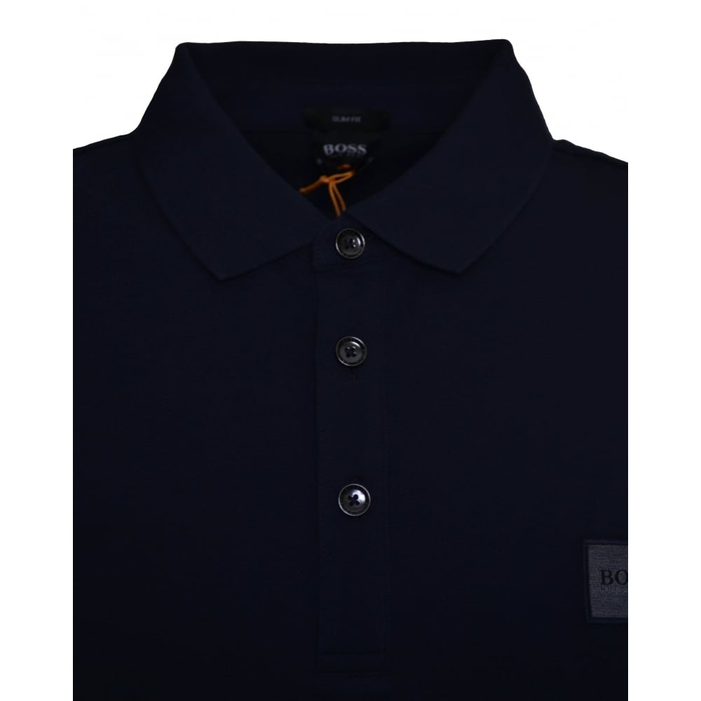 Hugo Boss Mens Dark Blue Polo Shirt