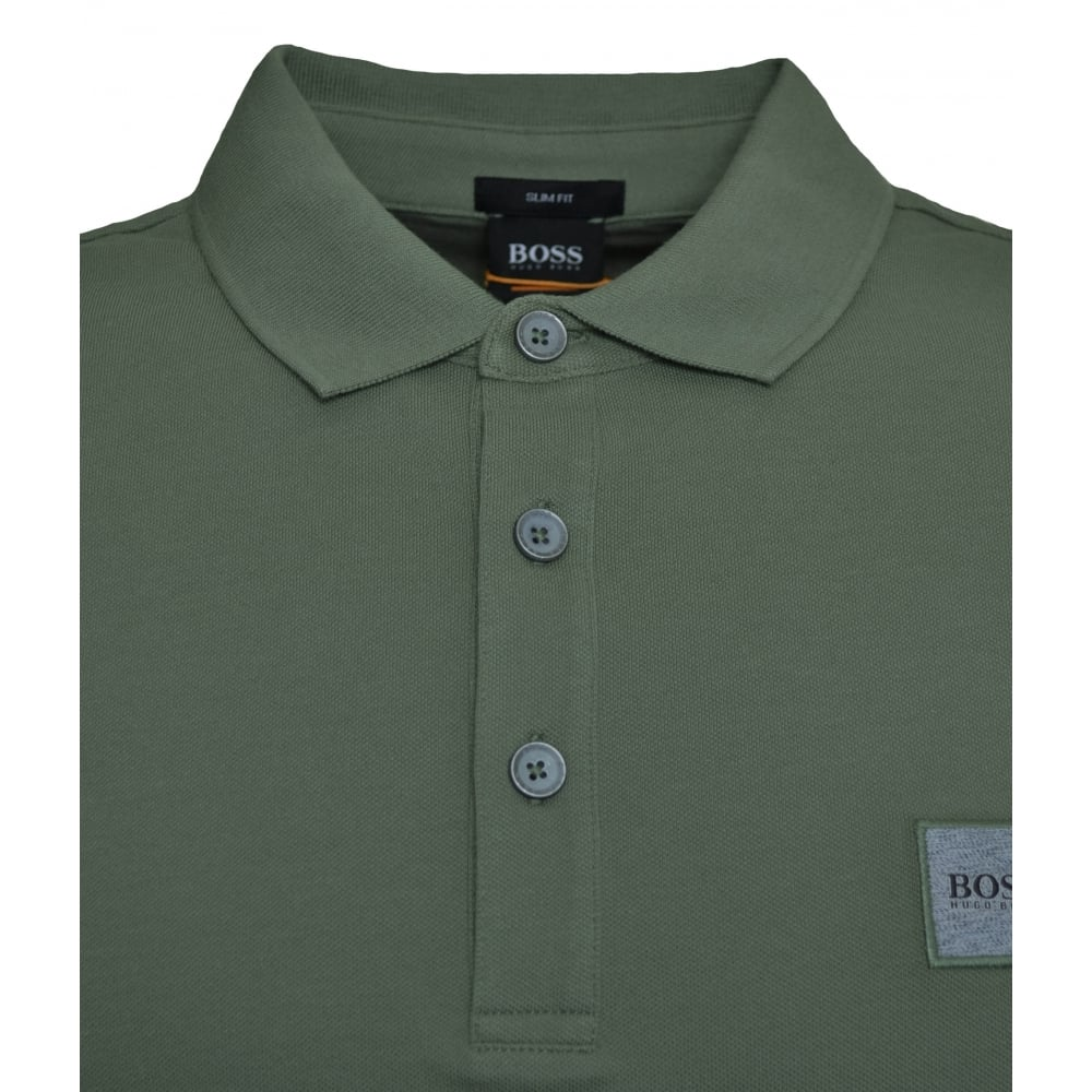 29094ba44 Hugo Boss Casual Men's Passenger Slim Fit Green Polo Shirt