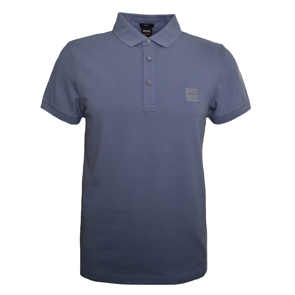 1b5448722 Hugo Boss Casual Men's Passenger Slim Fit Grey Polo Shirt