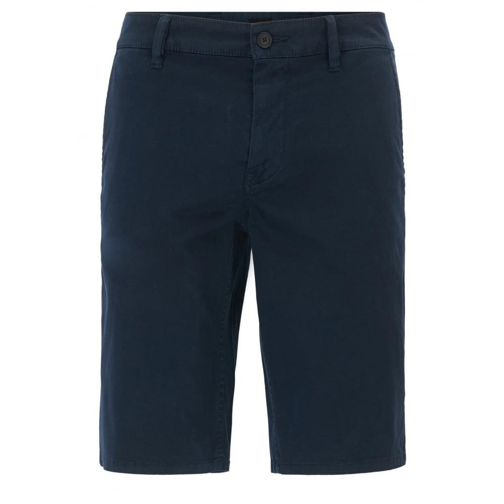 3c958b1c Hugo Boss Casual Men's Slim Fit Dark Blue Chino Shorts