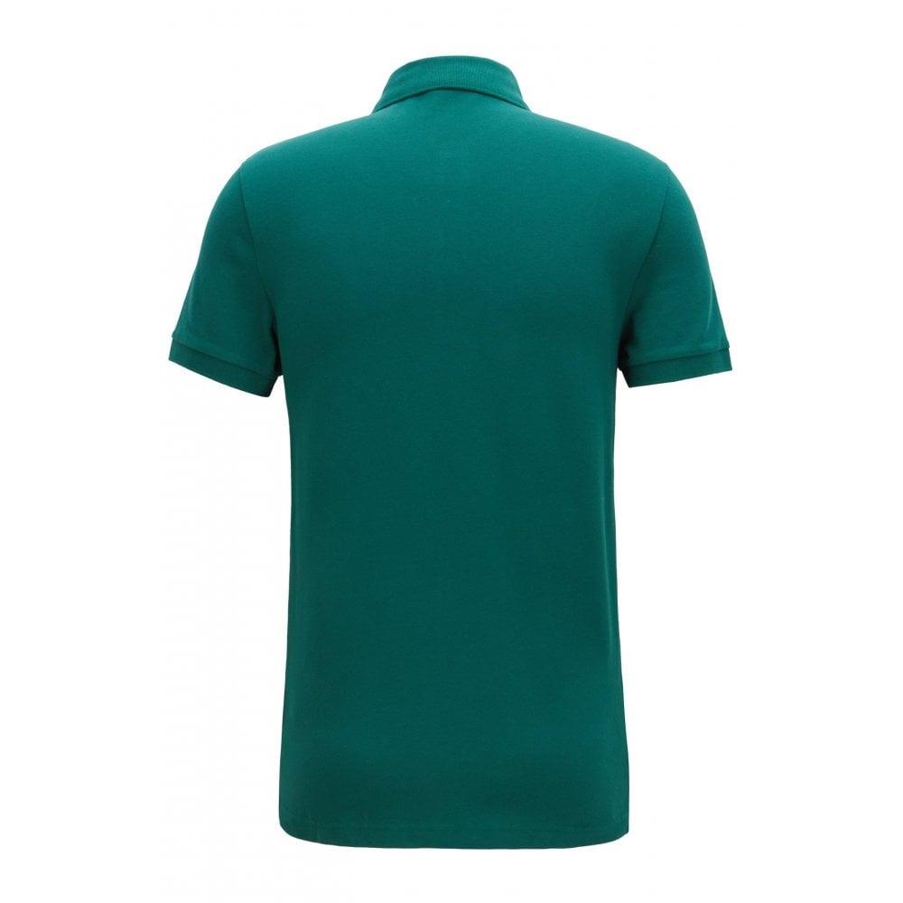 b235fbc4 Hugo Boss Casual Men's Slim Fit Green/Blue Passenger Polo Shirt