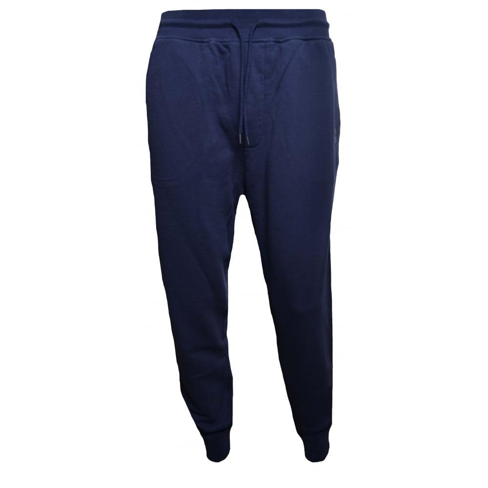 92ebdaab222f Hugo Boss Casual Men  039 s South UK Dark Blue Jogging Bottoms