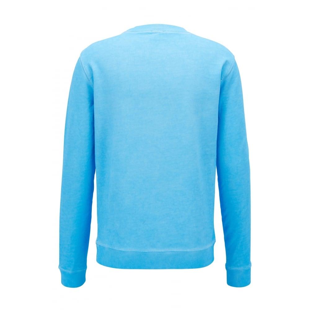 Hugo Boss Mens Round Neck Sweatshirt WALLKER 50382322 Size L Pink