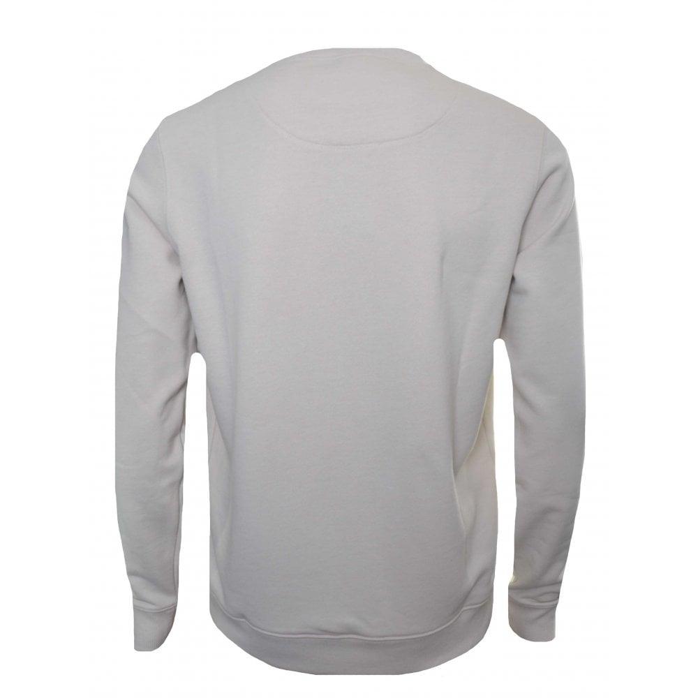 bb95c5e24 Hugo Boss Casual Men's White Wedford Sweatshirt