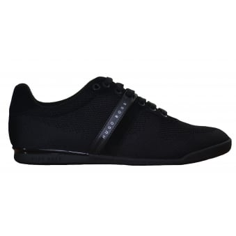 Hugo Boss Green Men's Arkansas_Lowp_Syjq Black Trainers