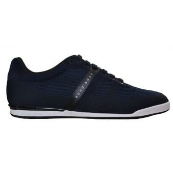 Hugo Boss Green Men's Arkansas_Lowp_Syjq Dark Blue Trainers