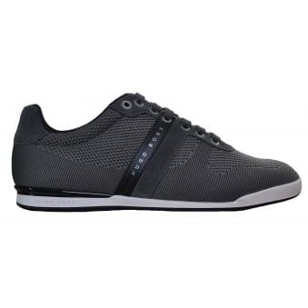 Hugo Boss Green Men's Arkansas_Lowp_Syjq Dark Grey Trainers
