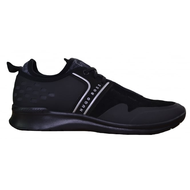 Hugo Boss Footwear Hugo Boss Green Men's Black Extreme_Runn_Sdmx Trainers