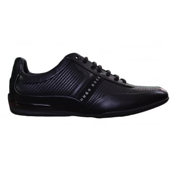Hugo Boss Green Men's Black Space_Lowp_Itma1 Trainers
