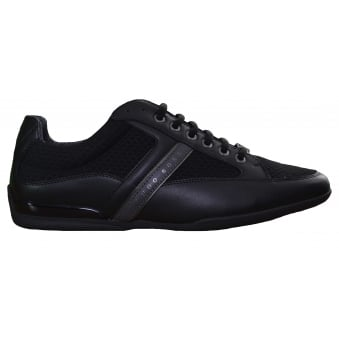 Hugo Boss Green Men's Black Space_Lowp_Neem Trainers