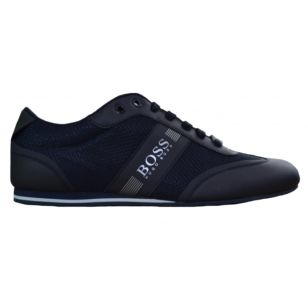 great look modern design real deal Hugo Boss Footwear Hugo Boss Green Men's Dark Blue Lighter_Lowp_Mxme  Trainers