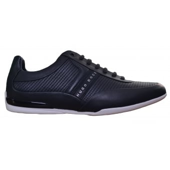Hugo Boss Green Men's Dark Blue Space_Lowp_Itma1 Trainers