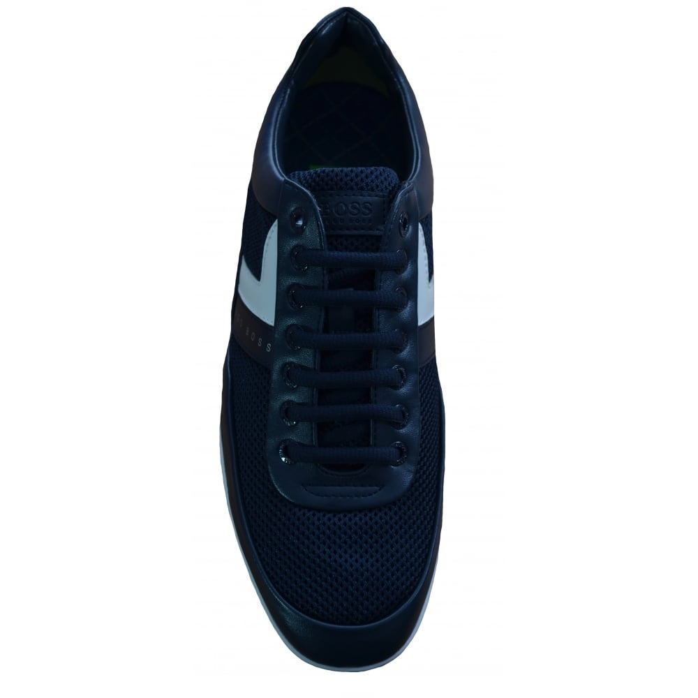db97551599a Hugo Boss Green Men  039 s Dark Blue Space Lowp Syme Trainers