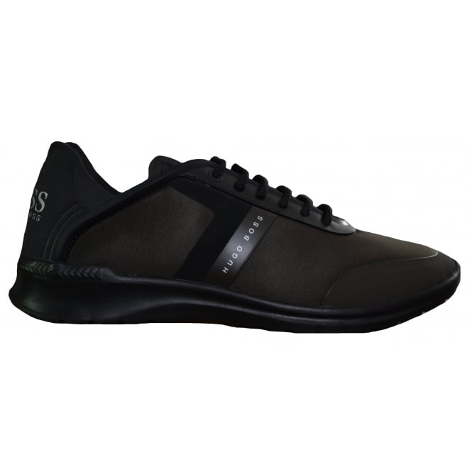 Hugo Boss Footwear Hugo Boss Green Men's Dark Green Extreme_Runn_Neo Trainers