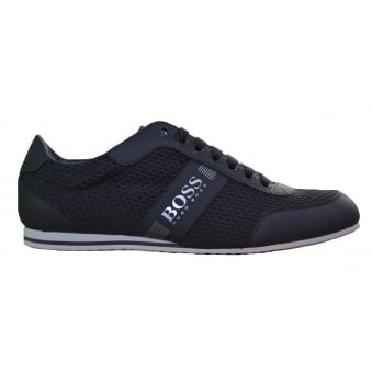 Hugo Boss Green Men's Dark Grey Lighter_Lowp_Neem Trainers