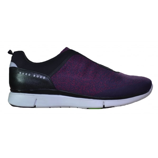 Hugo Boss Footwear Hugo Boss Green Men's Gym Knit Purple Trainers