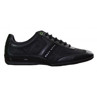 Hugo Boss Green Men's Space_Lowp_Nypr Black Trainers
