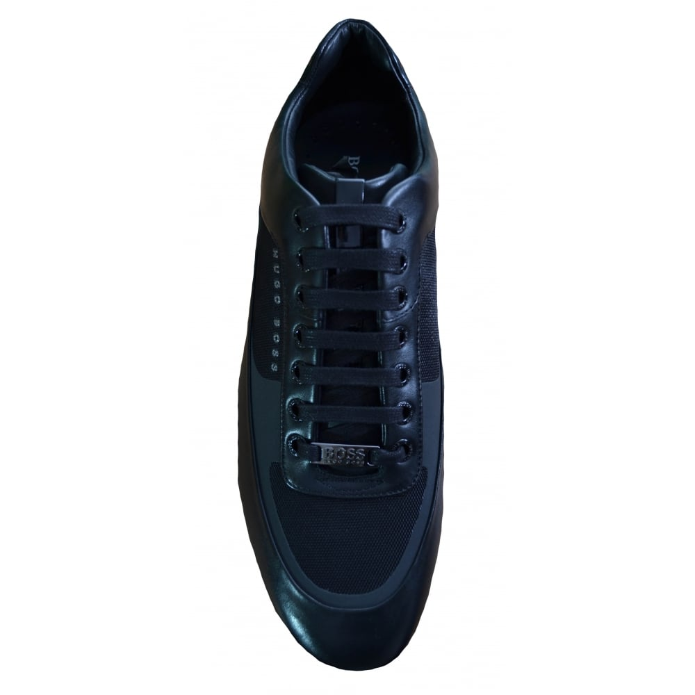 large discount how to get latest discount Hugo Boss Footwear Hugo Boss Men's Black HBracing_Lowp_Itny1 Trainers