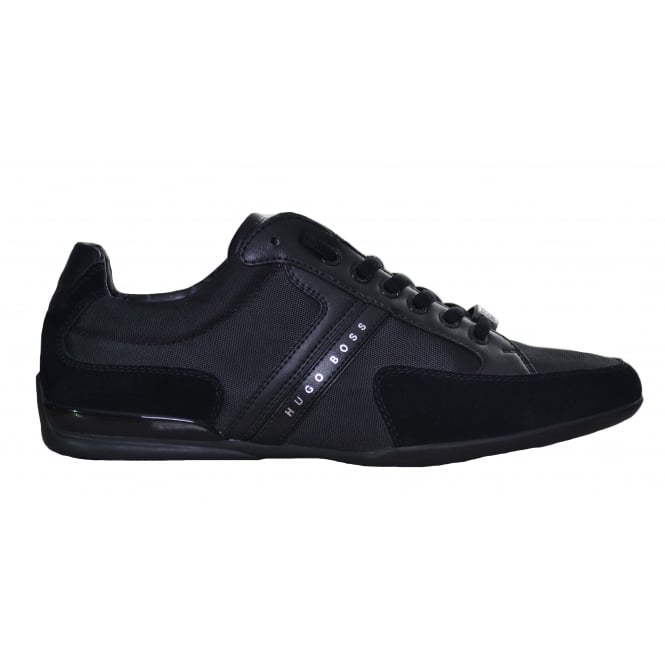 Hugo Boss Footwear Hugo Boss Men's Black Spacit Trainers