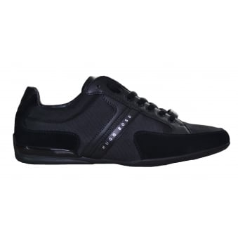 Hugo Boss Men's Black Spacit Trainers