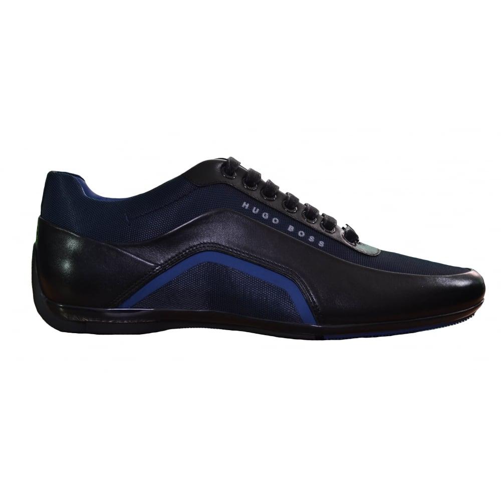 2018 sneakers running shoes Official Website Hugo Boss Footwear Hugo Boss Men's Blue HB Racing_Lowp_Itny Trainers