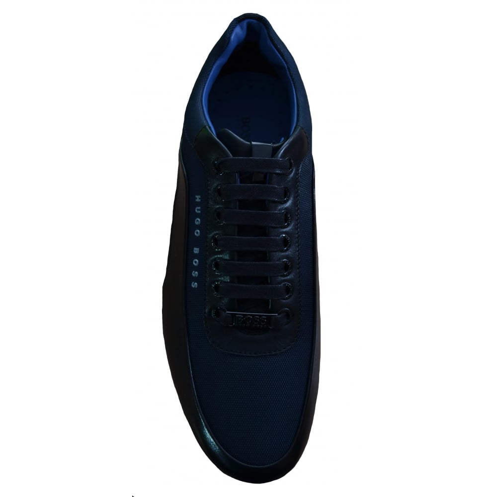 1714f7bbd1b Hugo Boss Men  039 s Blue HB Racing Lowp Itny Trainers