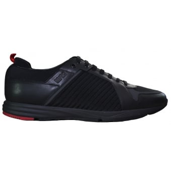 Hugo Boss Men's Hybrid_Runn_Mxma Black Trainers