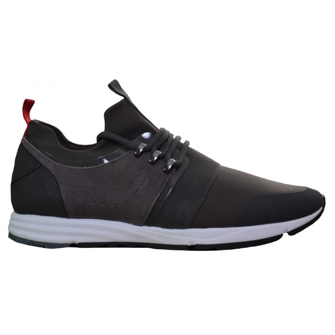 Hugo Boss Footwear Hugo Boss Men's Hybrid_Runn_Mxsc Dark Grey Trainers