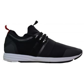 Hugo Boss Men's Hybrid_Runn_Mxsx Black Trainers
