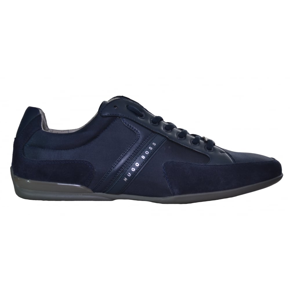 professional best site top-rated authentic Hugo Boss Footwear Hugo Boss Men's Navy Blue Spacit Trainers
