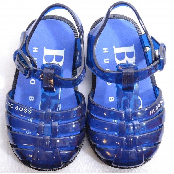 b270f5542e2027 ... Navy  elegant shoes e2b46 57d0a Hugo Boss Infants Jelly Sandals ...