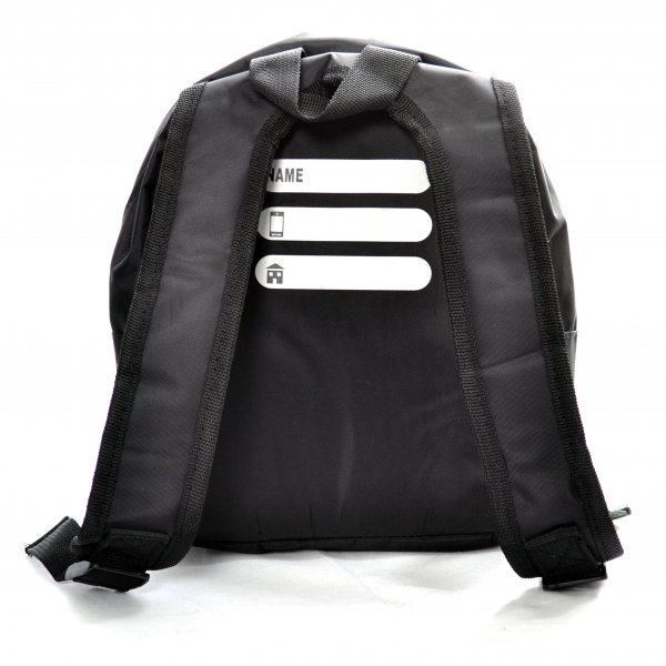 49a2b74b7e1 infants hugo boss black small backpack