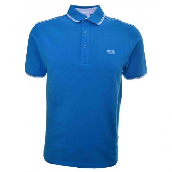 8647001c2 Hugo Boss Kids Aqua Blue Polo Shirt