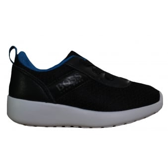 Hugo Boss Kids Black Trainers