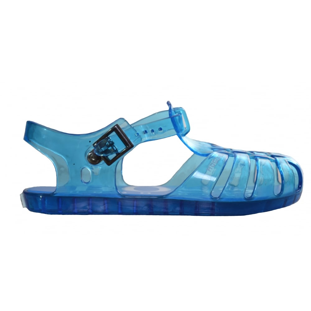 128bd75d44a hugo boss kids blue jelly sandals